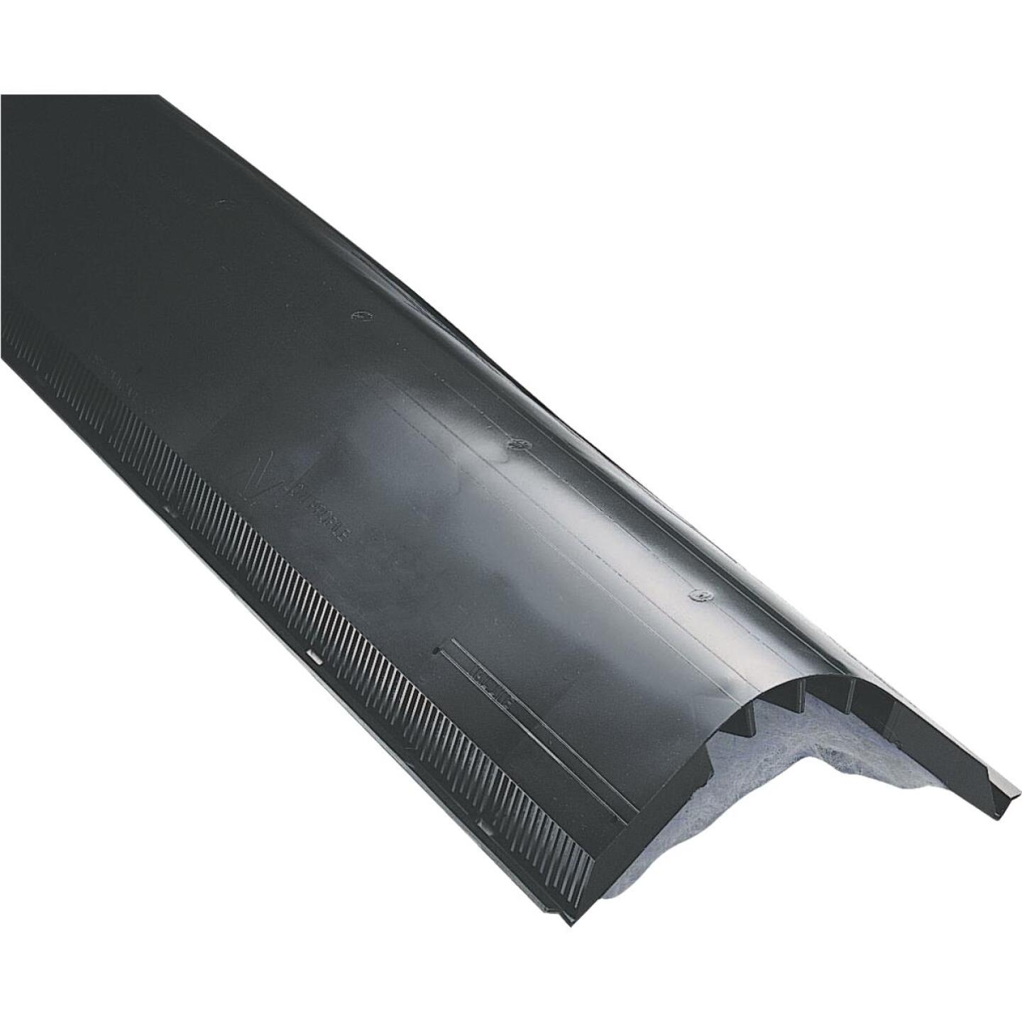 Air Vent Attic-Aire 48 In. Black Filtered Shingle-Over Ridge Vent Image 1