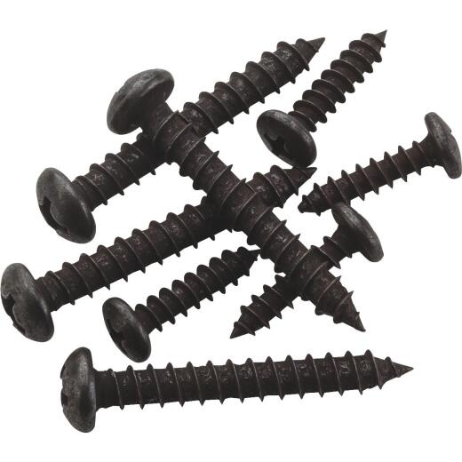 National Catalog V8601 Oil Rubbed Bronze Closet Hardware Mounting Screws (8-Count)