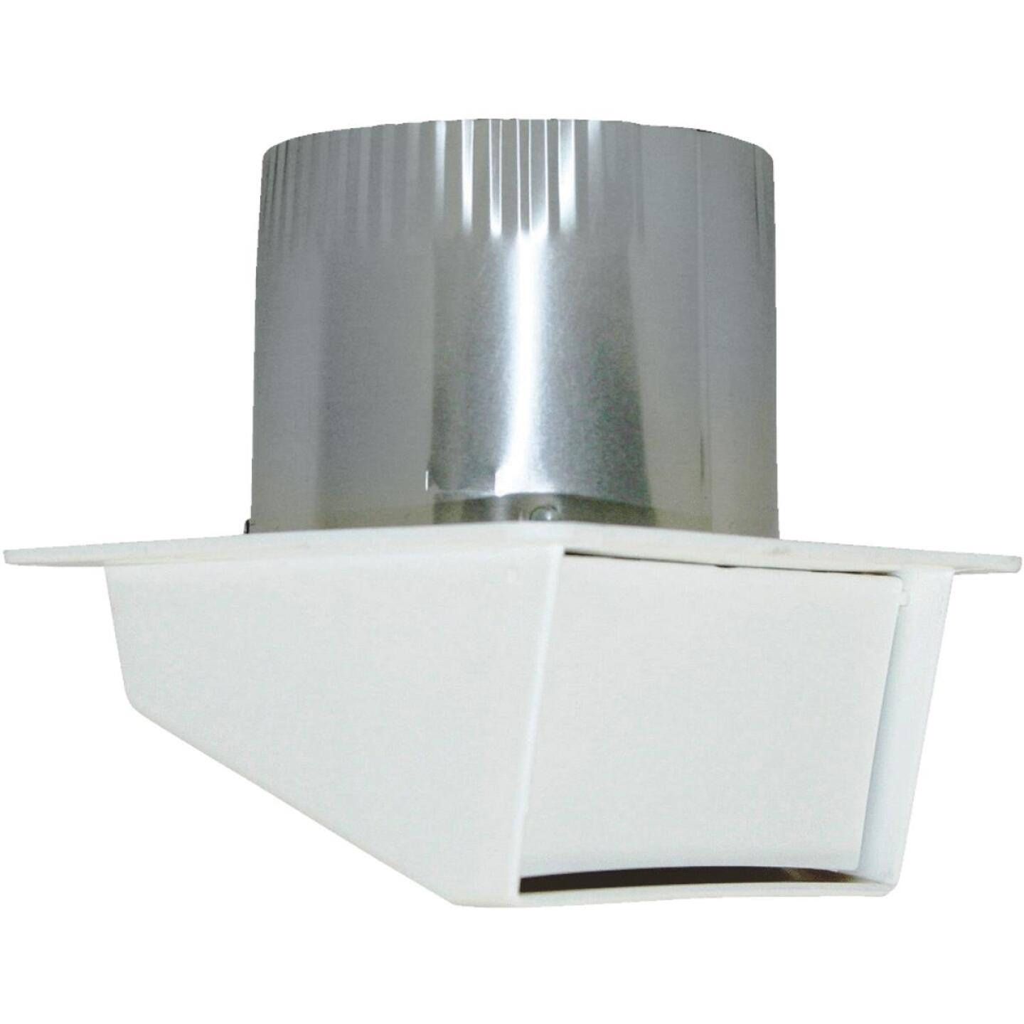 Builders Best 4 In. White Plastic Eave & Soffit Vent Image 1