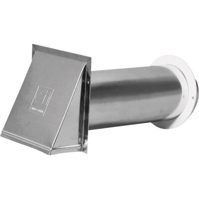 Dundas Jafine 4 In. Aluminum Dryer Vent Hood