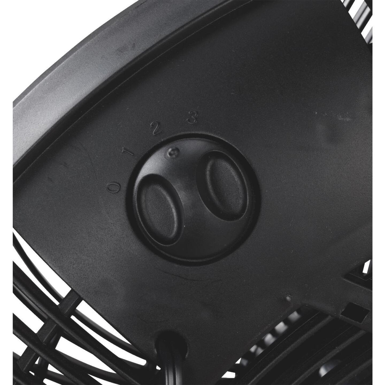 Best Comfort 16 In. 3-Speed Black Floor Fan Image 8