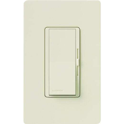 Lutron Diva Incandescent Light Almond Slide Dimmer Switch