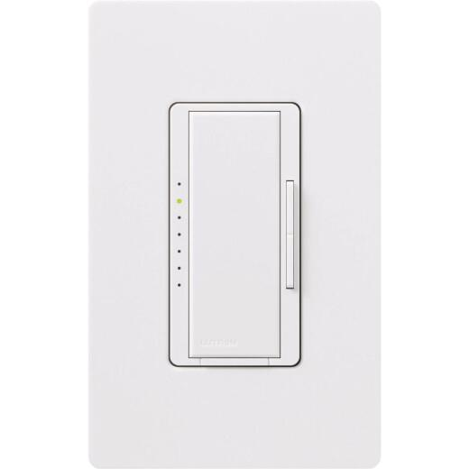 Lutron Maestro Halogen/Incandescent/LED/CFL White Digital Slide Dimmer Switch