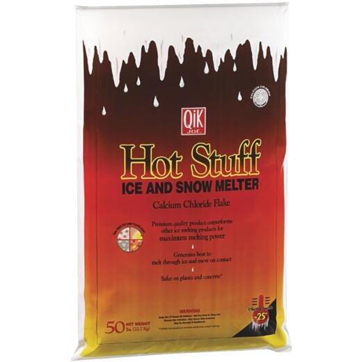 Qik Joe Hot Stuff 50 Lb. Ice Melt Flakes