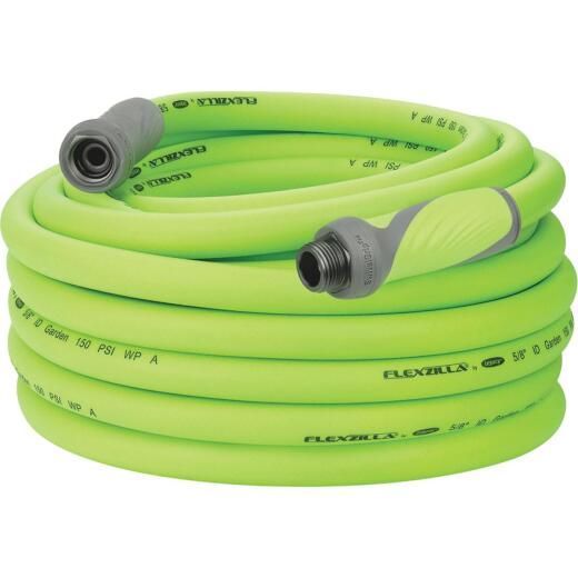 Flexzilla 5/8 In. Dia. x 75 Ft. L. Drinking Water Safe Garden Hose with SwivelGrip Connections