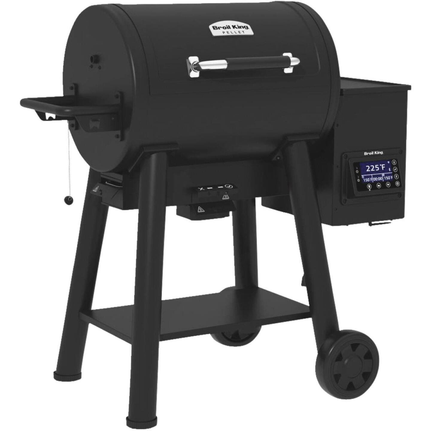 Broil King Baron Pellet 400 Black 635 Sq. In. Grill Image 3