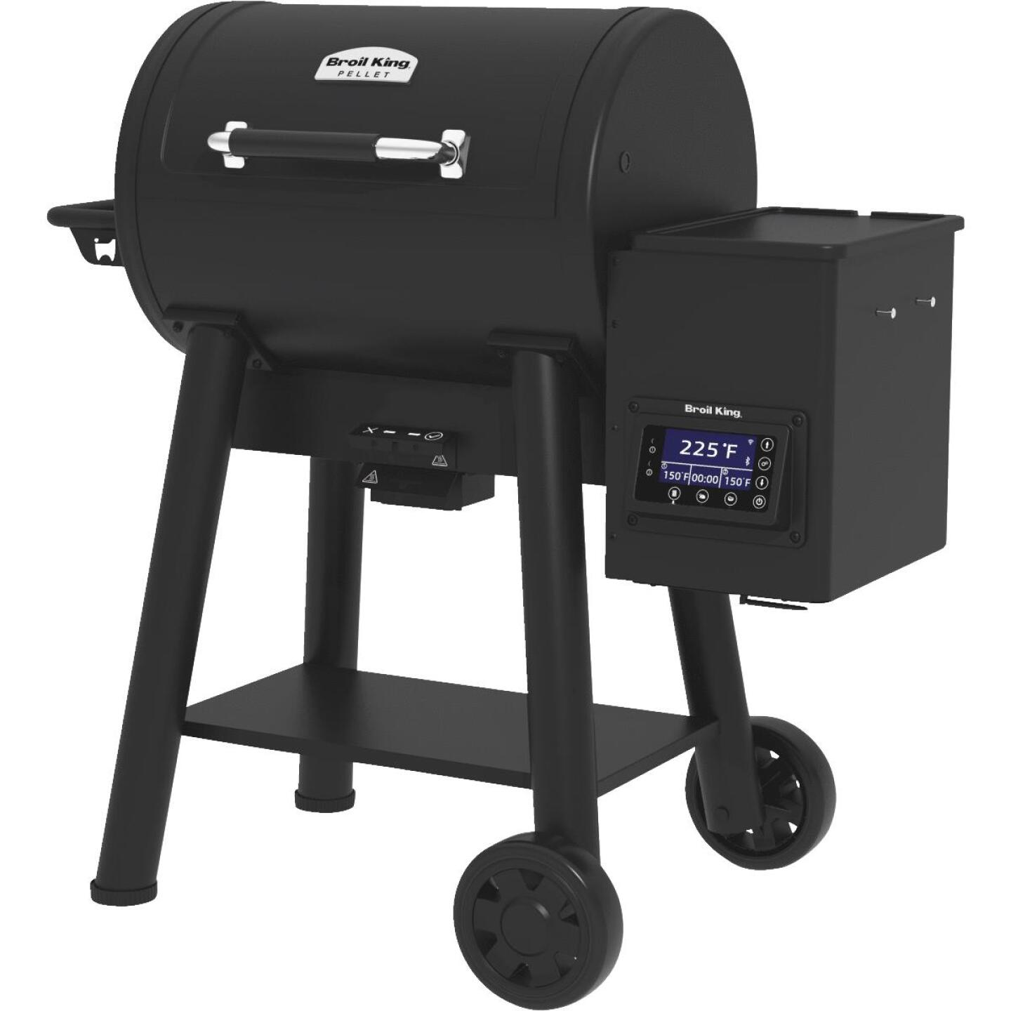 Broil King Baron Pellet 400 Black 635 Sq. In. Grill Image 5