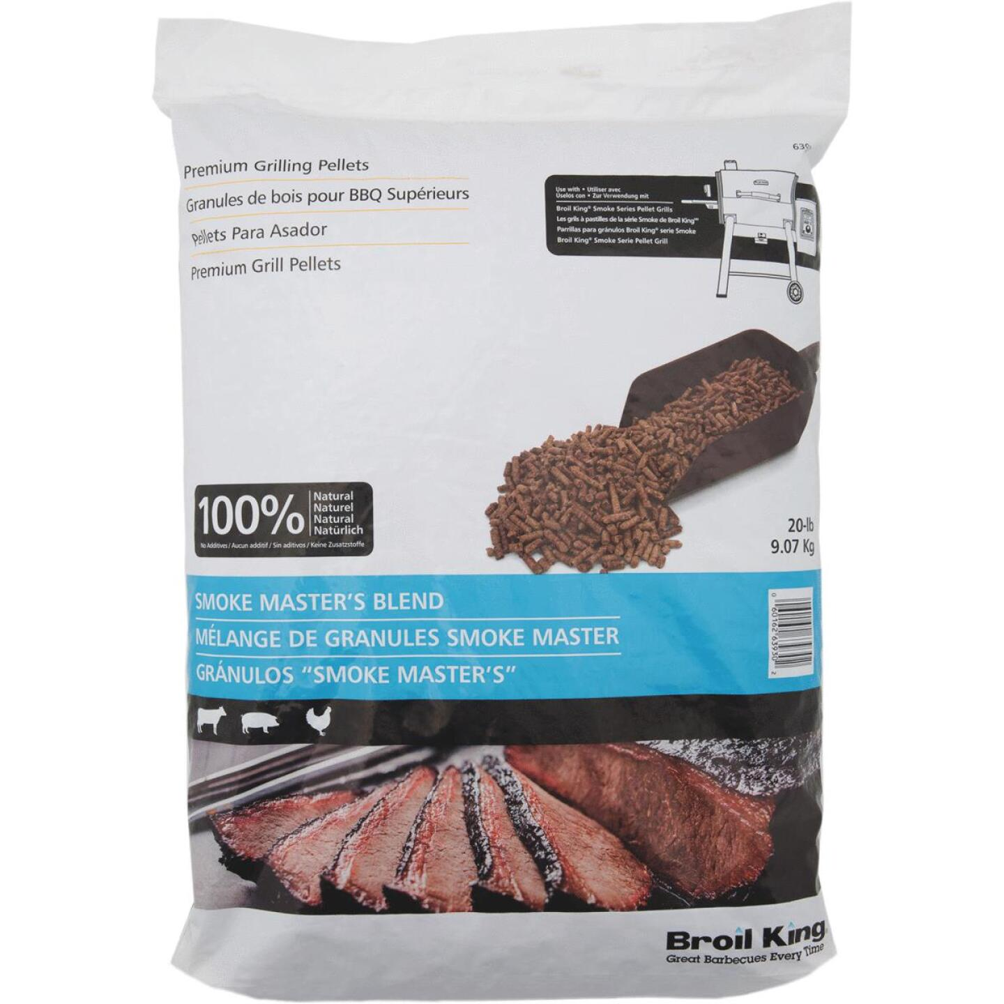 Broil King 20 Lb. Maple, Hickory, & Cherry Smoke Master's Blend Wood Pellet Image 1