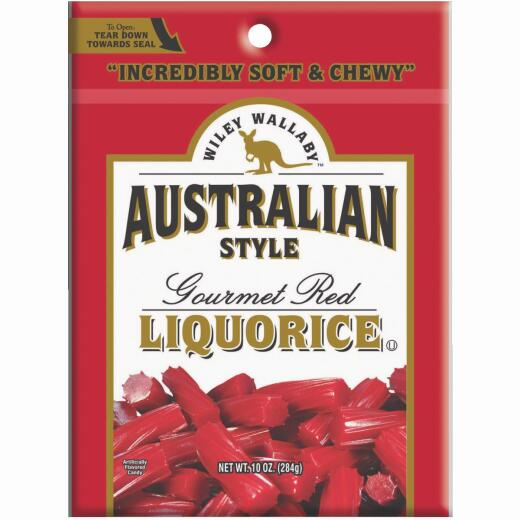 Wiley Wallaby Red Liquorice 10 Oz. Candy