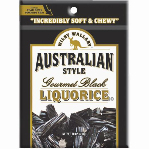 Wiley Wallaby Black Liquorice 10 Oz. Candy